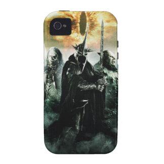Witchking y Orcs iPhone 4 Funda