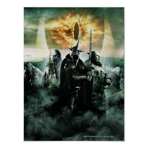 Witchking y Orcs Póster