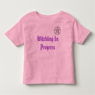 Witchling In Progress Toddler T-shirt