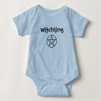 Witchling Pentacle Pagan Wiccan Baby Creeper