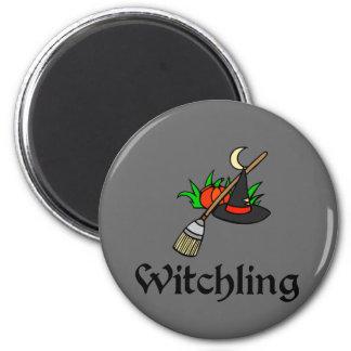 Witchling Refrigerator Magnet