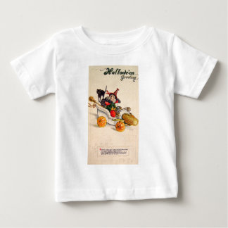 Witchmobile (Vintage Halloween Card) Baby T-Shirt