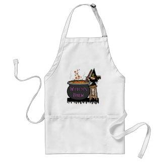Witch's Brew apron