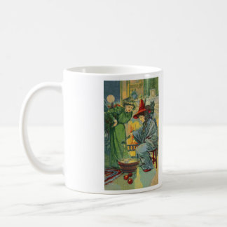 Witch's Brew Cross Stitch Coffee Mug