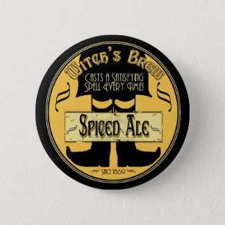 Witch's Brew Pinback Button