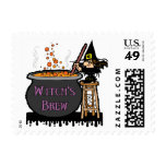 Witch's Brew Postage Stamp Postage Stamp