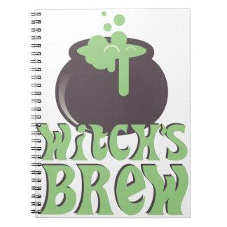 Witchs Brew Spiral Notebook