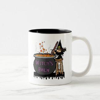 Witch's Brew Two-Tone Mug Coffee Mug