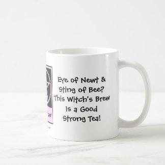 Witch's Brew! Wiccan Tea-addicts Cup/Mug Classic White Coffee Mug