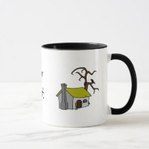 witch's cottage mug