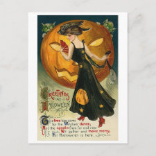 Witch's Dance Postcards