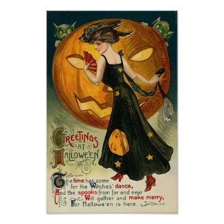 Witch's Dance Poster