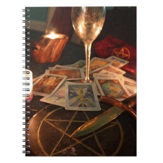 Witchs equipa el cuaderno