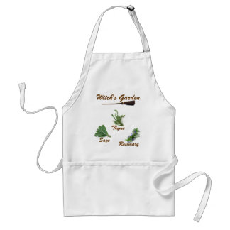 Witch's Garden Adult Apron