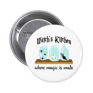 WITCHS KITCHEN PINBACK BUTTONS