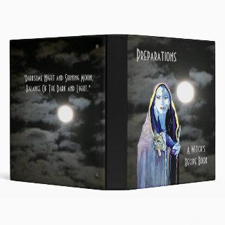 Witch's Recipe Book Binder