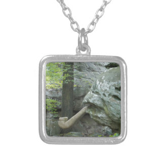 Witch's Rock Silver Plated Necklace