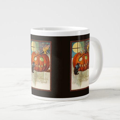 Witch's Wand Halloween Extra Large Mugs
