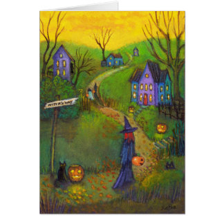 Witch's Way Note Card