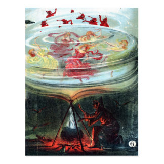 Witch's Whirl Waltzes Postcard