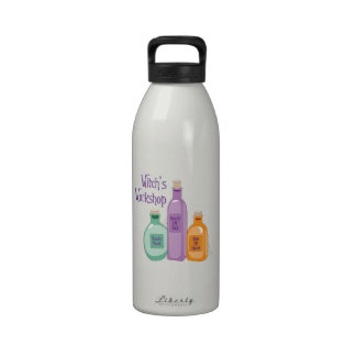 Witch's Workshop Reusable Water Bottle
