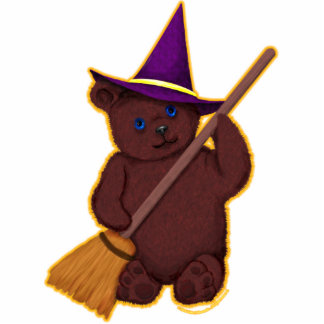 Witchy Bear Photo Sculpture