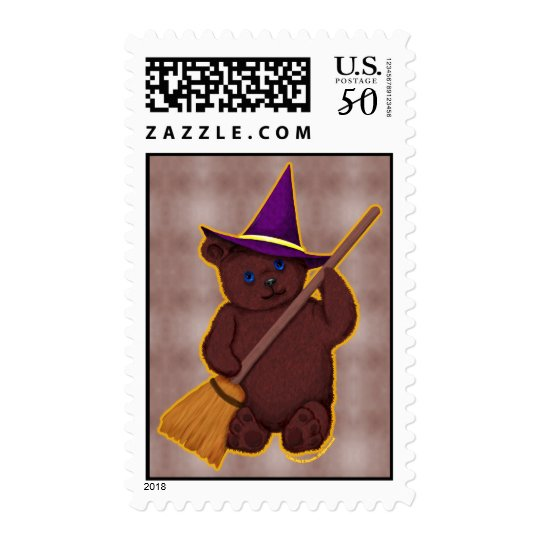 Witchy Bear Stamps