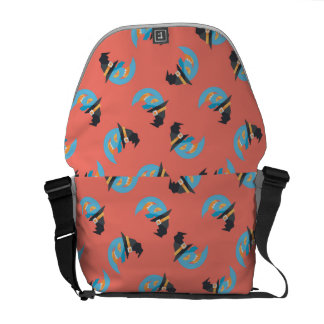 Witchy Blue Moons Courier Bag