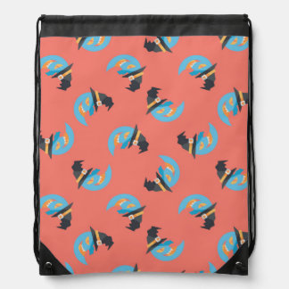Witchy Blue Moons Cinch Bags