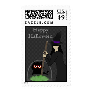 Witchy Brew Halloween Stamp