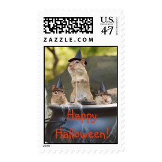 Witchy Chipmunks Postage