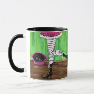 Witchy couture coffee mug gift