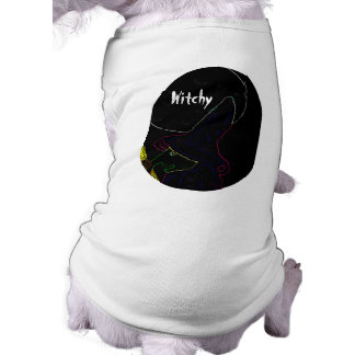 Witchy Dog T Shirt