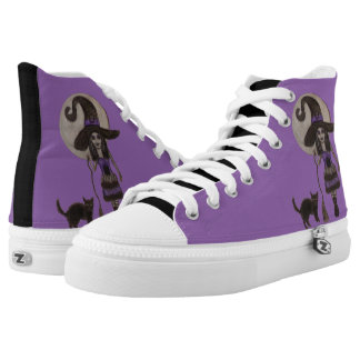 Witchy Dreams High-Top Sneakers