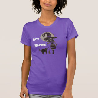 Witchy Dreams on Halloween - T-Shirt