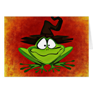 Witchy Frog Card
