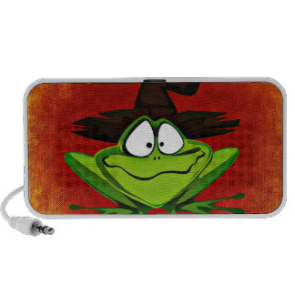 Witchy Frog Travel Speakers