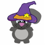witchy goofkin squirrel cut out