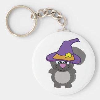 witchy goofkin squirrel keychain