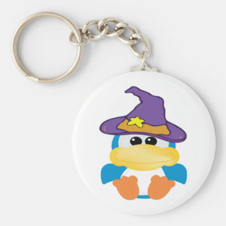 witchy goofkins blue duck key chain