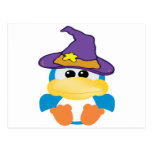 witchy goofkins blue duck postcard