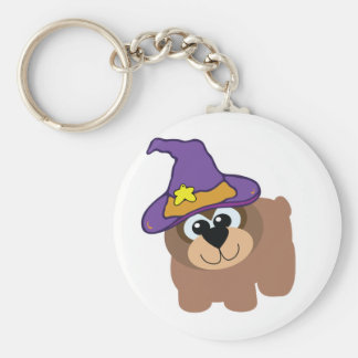 witchy goofkins brown bear key chain