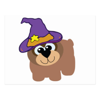 witchy goofkins brown bear postcards