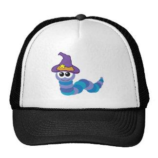 witchy goofkins caterpillar trucker hat