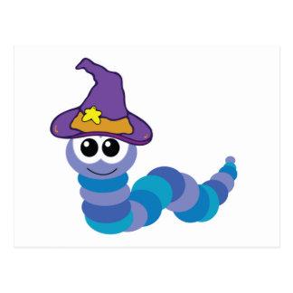 witchy goofkins caterpillar postcards