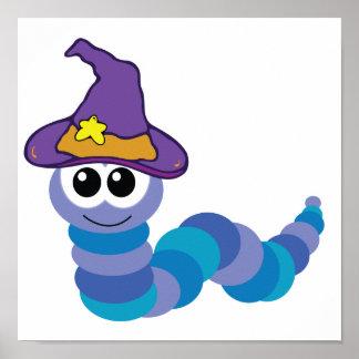 witchy goofkins caterpillar poster