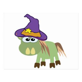 witchy goofkins donkey donk post card