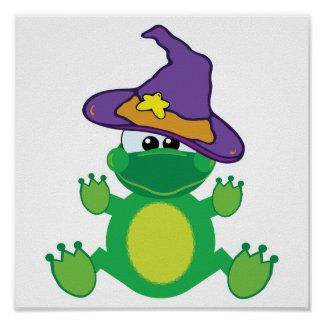 witchy goofkins froggy frog posters
