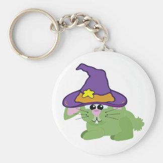 witchy goofkins green bunny rabbit keychains