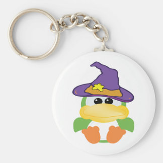 witchy goofkins green duck key chain